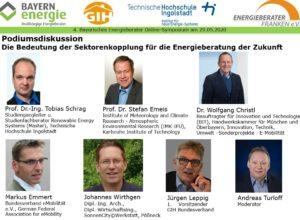 Podiumsdiskussion 4. Bayerisches Energieberater Online-Symposium 2020
