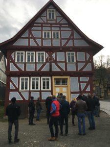 Die GIH-Hessen WissensWerkstatt/Herbst 2019 besucht das Freilichtmuseum Hessenpark