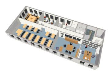 Grundriss 3D