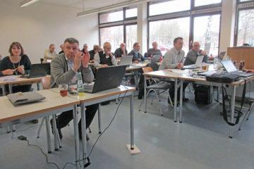 aufmerksame Teilnehmer des Workshops