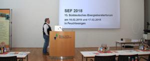 SEF2018 am 16.02.2018 und 17.02.2018 in Feuchtwangen