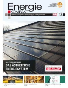 Energie KOMPAKT 02/18 erscheint am 13.04.