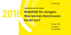 Energiepolitisches Forum 2018 in Stuttgart