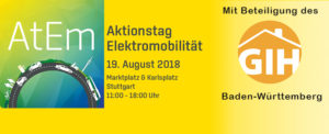 Aktionstag Elektromobilität AtEm am 19.08.2018