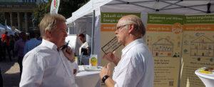 Der GIH auf dem Energiewendetag am 21. September 2019 auf dem Schlossplatz