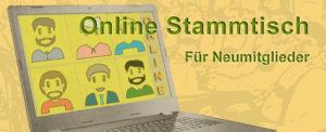 Online Stammtisch für Neumitglieder am 30.06.2021
