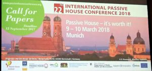 Internationale Passivhaustagung am 28. und 29. April in Wien