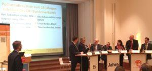 Jubiläumsfeier zum 15-jährigen Bestehen des GIH-Bundesverbands