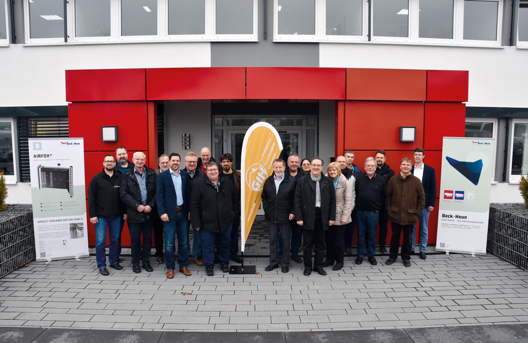 wo zu kaufen 60% Freigabe Gutscheincodes Mitgliederversammlung des GIH Hessen bei Beck+Heun - GIH Hessen