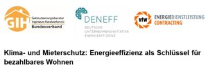 Klima- und Mieterschutz: Energieeffizienz als Schlüssel für bezahlbares Wohnen