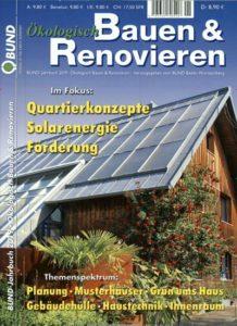 """""""Ökologisch Bauen und Renovieren"""" BUND Jahrbuch 2019"""