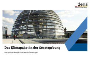 dena: Klimapaket ist große Gestaltungsaufgabe für Gesetzgebung