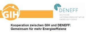 Kooperation zwischen GIH und DENEFF: Gemeinsam für mehr Energieeffizienz