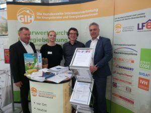 Energietage 2019 mit GIH-Aktivitäten und politischen Statements