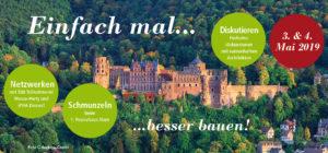 Passivhaustagung Heidelberg 03. + 04.05.2019